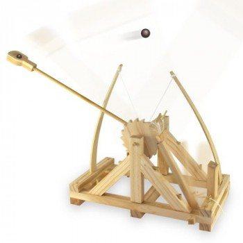 Geschenkidee.de Da Vinci Katapult Funktionsmodell