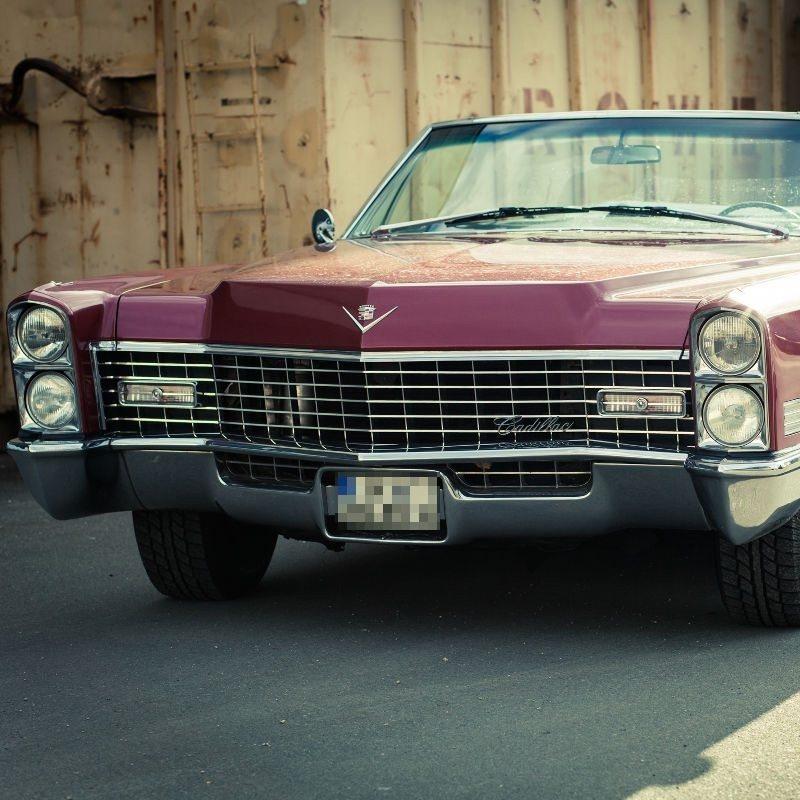 1967er Cadillac Cabrio fahren – Frankfurt am Main
