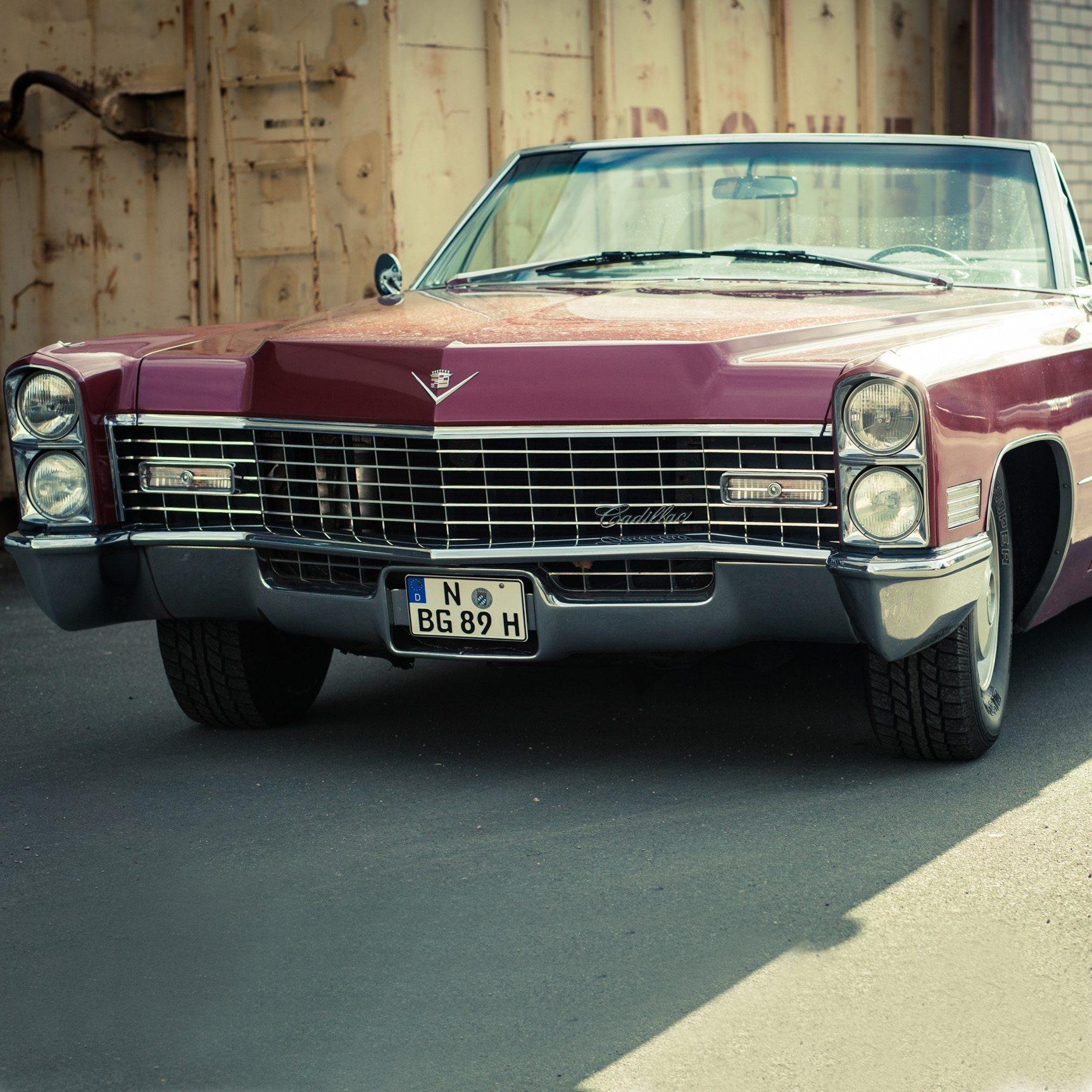 1967er Cadillac de Ville Cabrio - 3h - Nürnberg