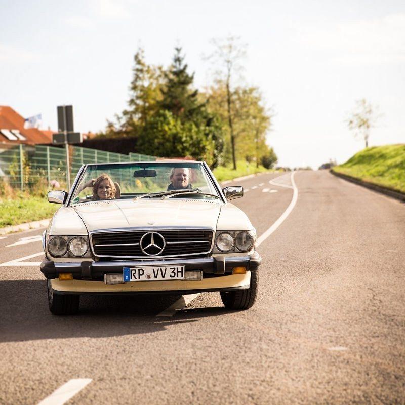 1982er Mercedes Cabrio - Raum Mannheim