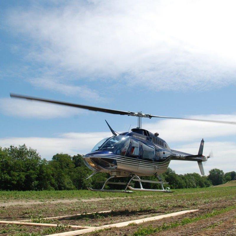 20 Minuten Hubschrauber-Rundflug – Neumarkt in der Oberpfalz