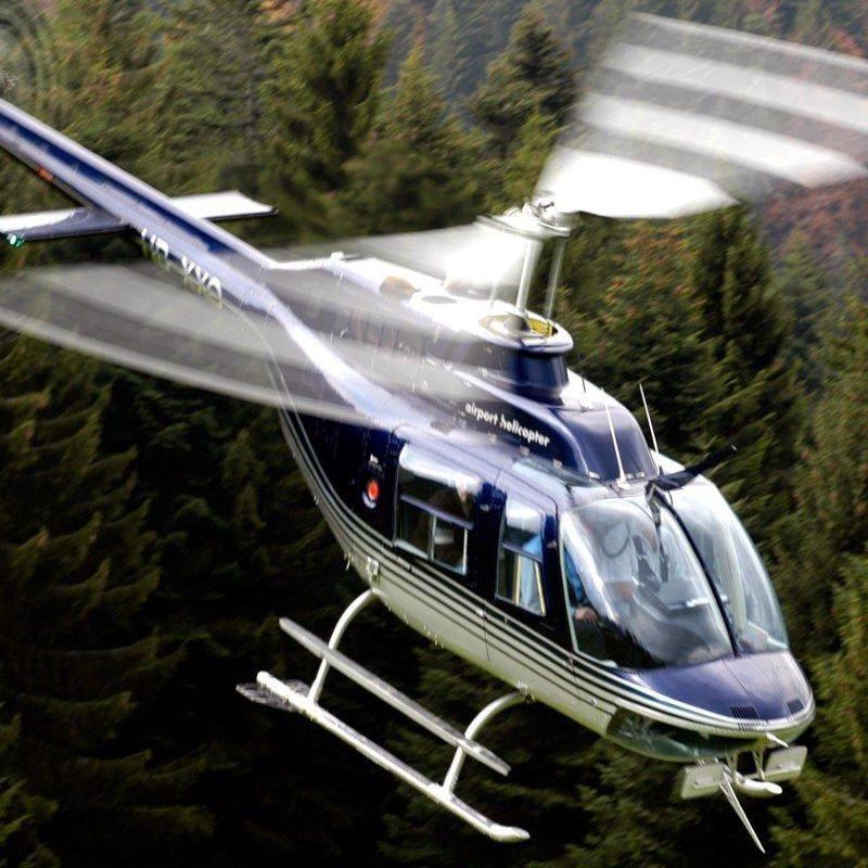 20 Minuten Hubschrauber-Rundflug – Region Breisgau
