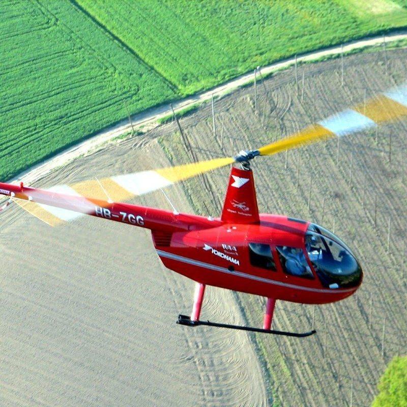 30 Minuten Hubschrauber-Rundflug – Gera