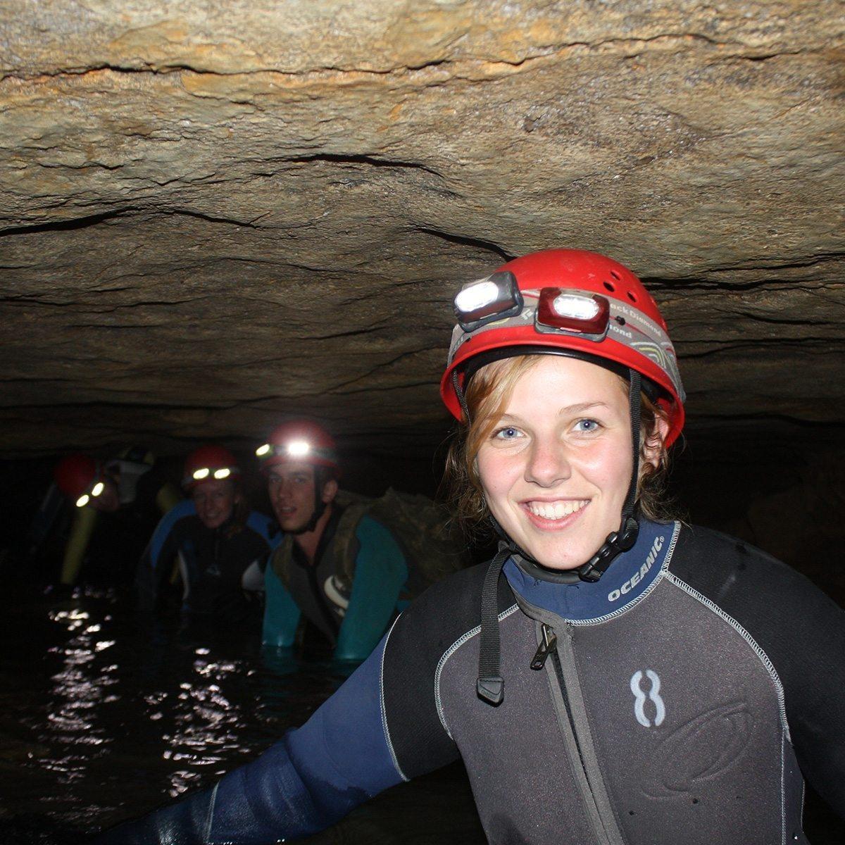 Höhlentrekking mit Höhlentauchen - Schwäbische Alb
