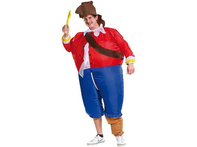 """Aufblasbares Kostüm """"Pirat"""""""