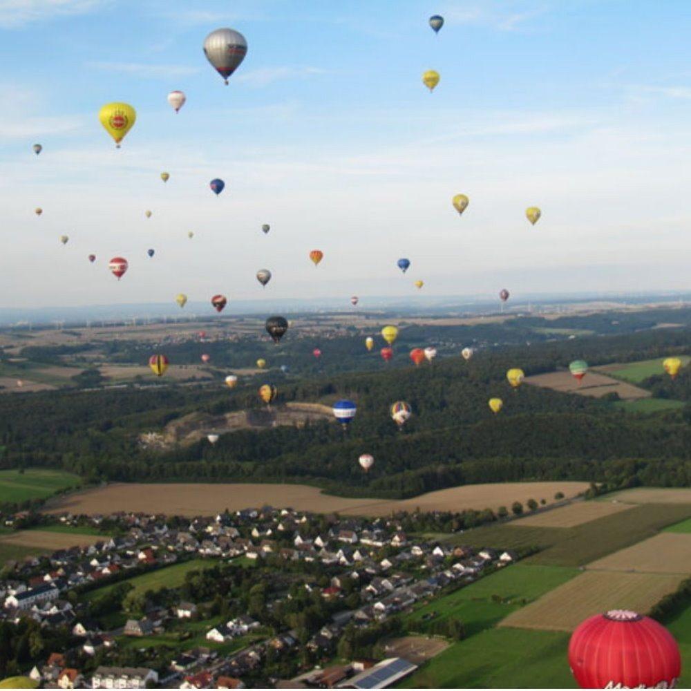 Ballonfahren – Münster