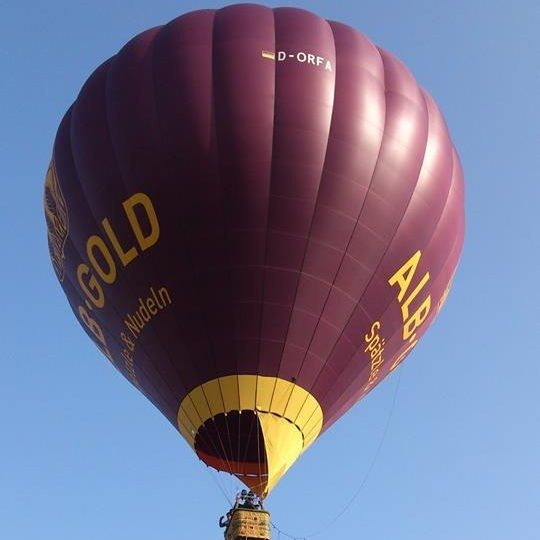 Ballonfahren - Schwäbische Alb