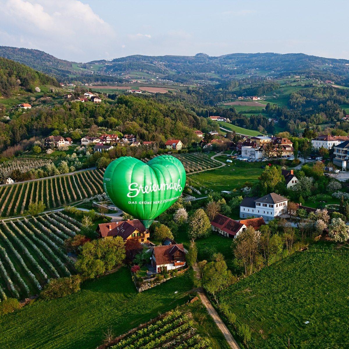 Ballonfahrt für zwei inkl. 2 Übernachtungen (Mo-Do) - Raum Braunau am Inn
