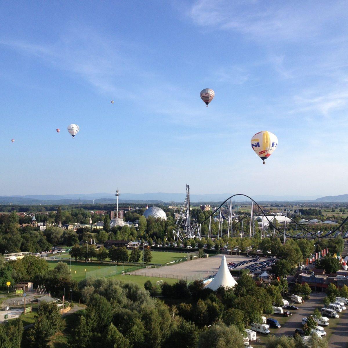 Ballonfahrt – Rust (Europapark)