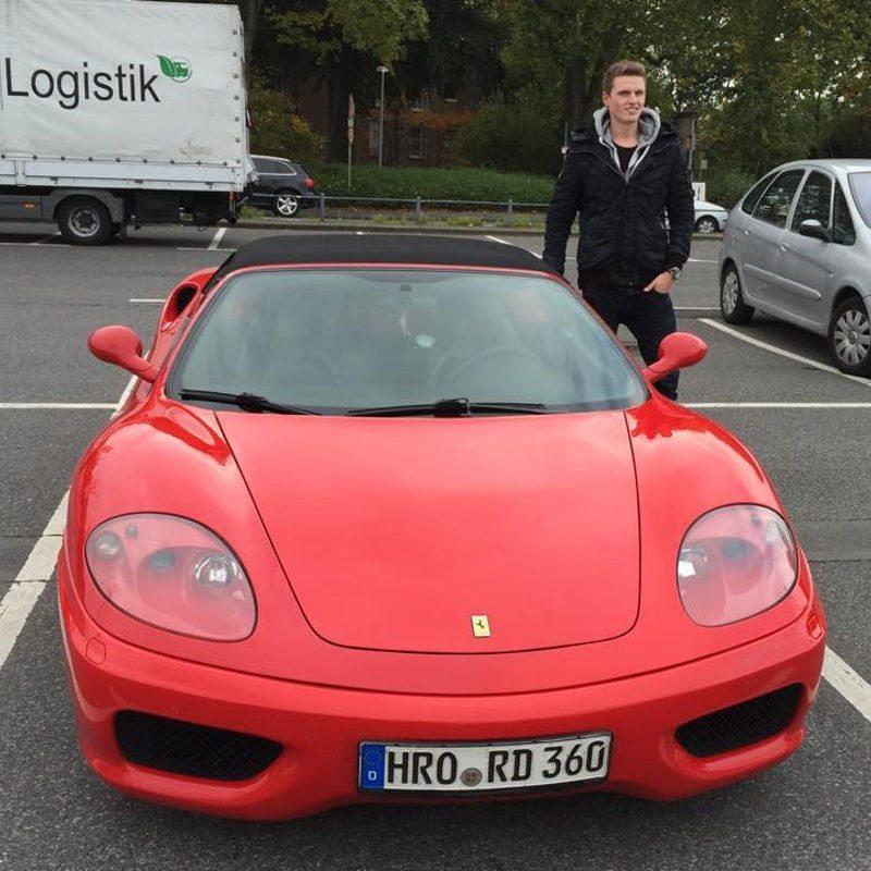 Beifahrer im Ferrari 360 Spider - Nürnberg