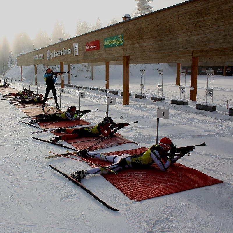 Biathlon-Schnupperkurs mit Stadionführung - Raum Freiburg