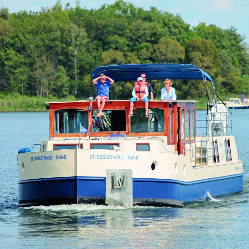 Bootsurlaub auf der Seenplatte - Müritz