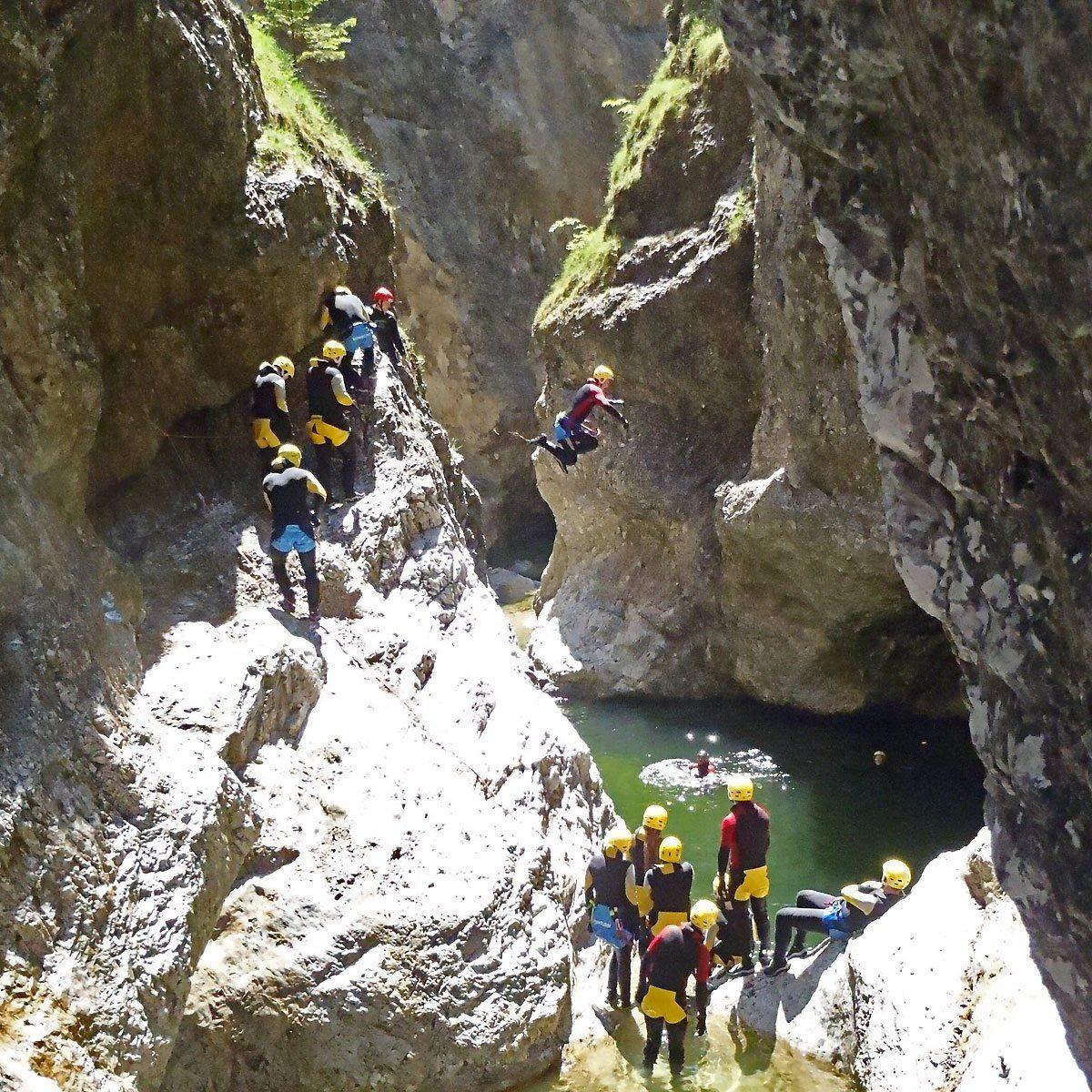 Canyoning für Sportliche - Raum Salzburg