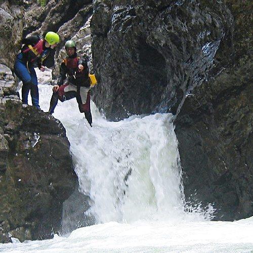 Canyoning - Schluchtenwandern - ca. 3 h - Raum Abtenau