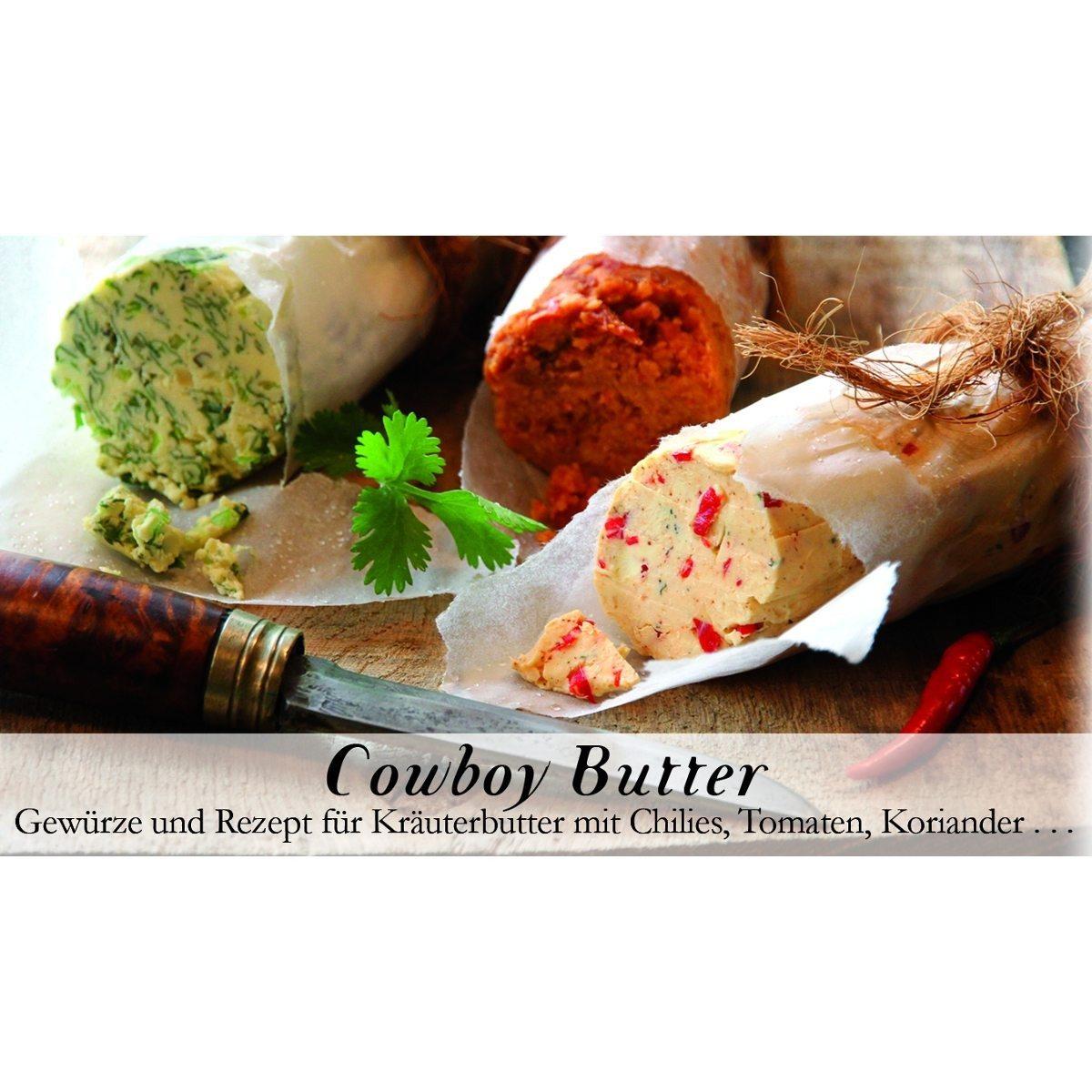 Cowboy-Butter - Gewürzmischung für Kräuterbutter