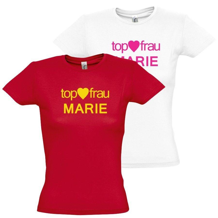 "Damen T-Shirt ""Top Frau"""
