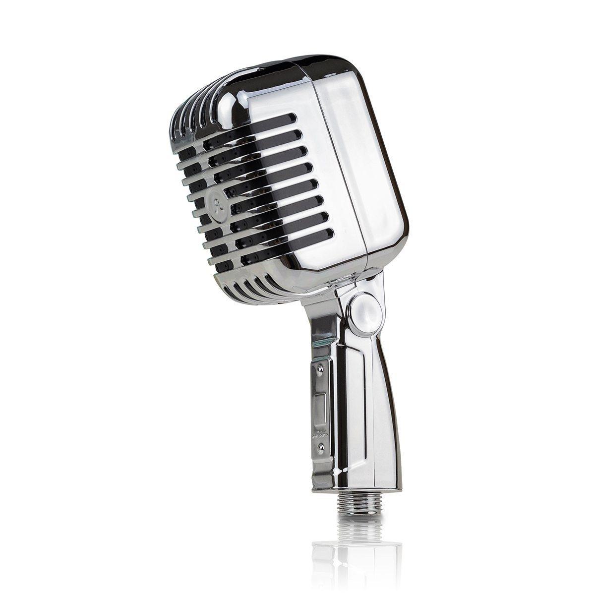 """Duschkopf """"Mikrofon"""""""