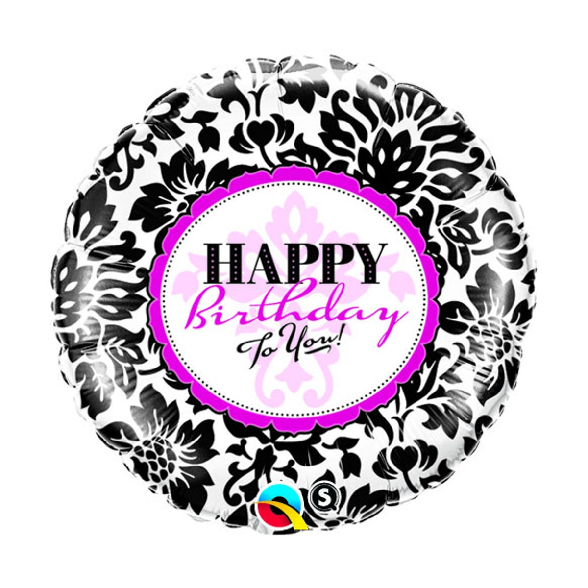 "Eleganter Helium-Luftballon ""Happy Birthday"""