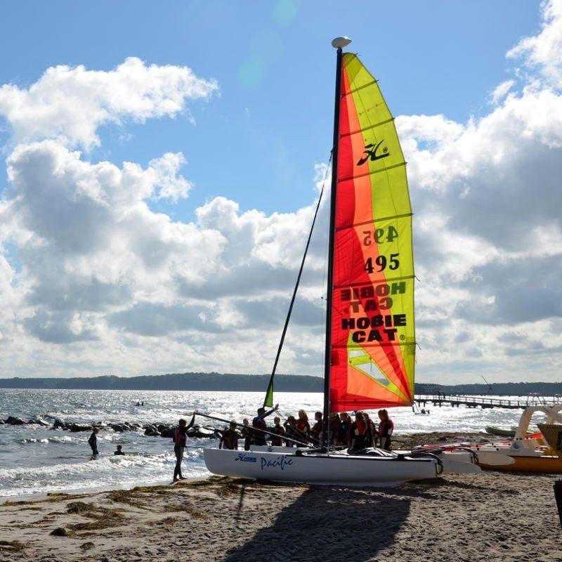 Erlebniswochenende: Katamaran segeln - Schwedeneck