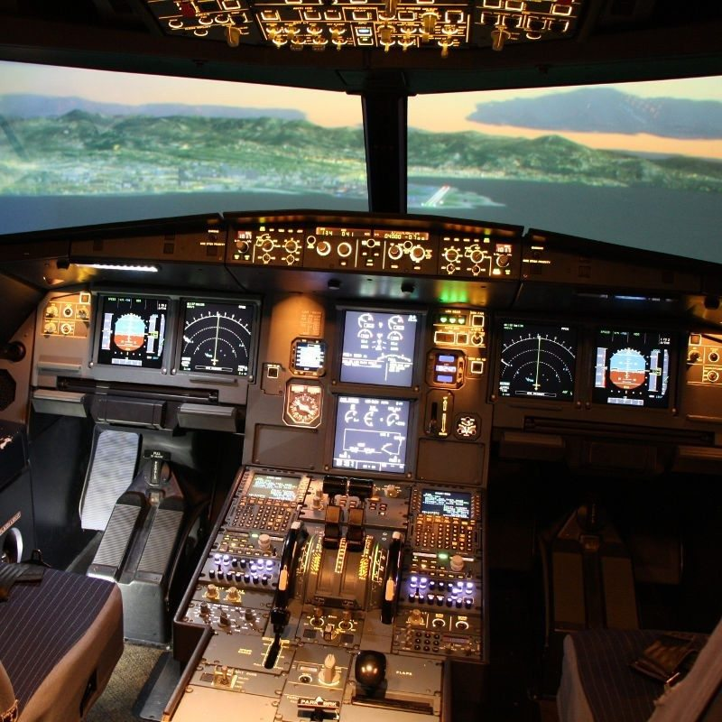 Flugsimulator A320 München