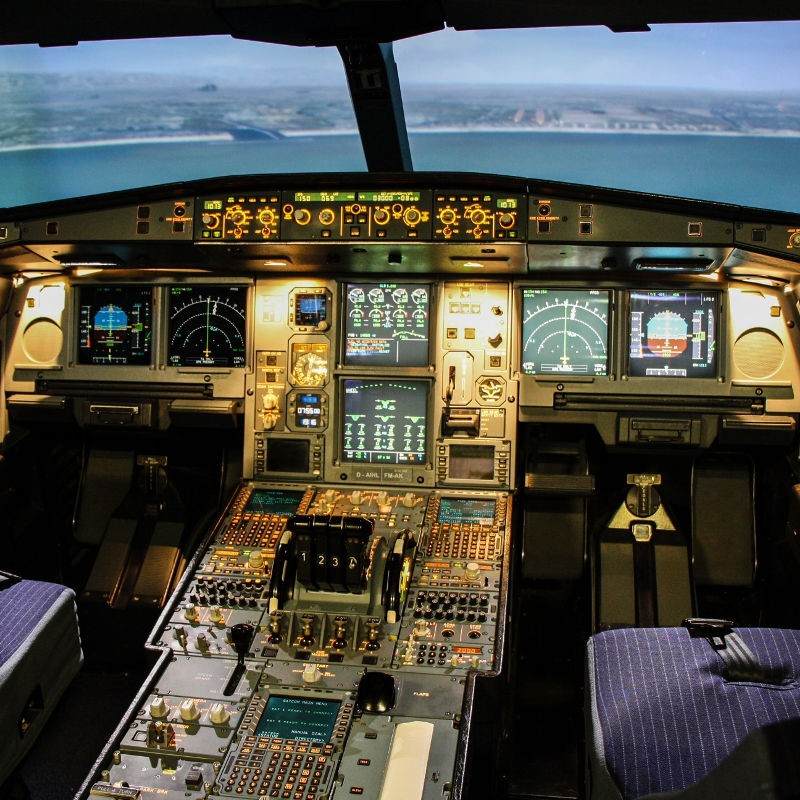 Flugsimulator A340 Frankfurt am Main