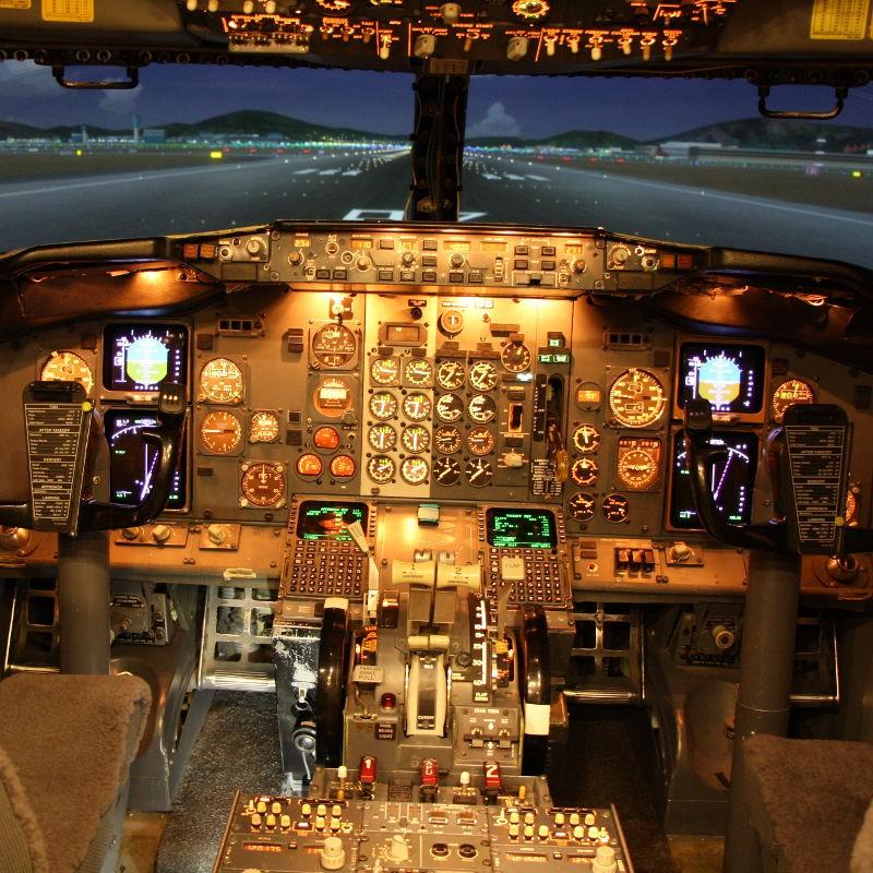 Flugsimulator B737 Frankfurt am Main