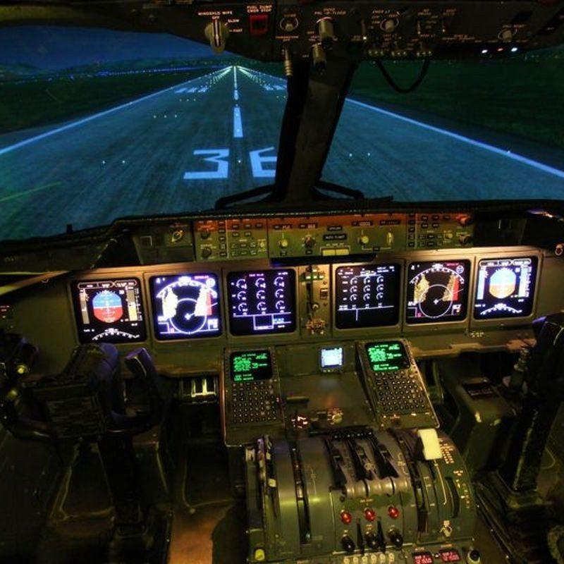 Flugsimulator MD-11 Frankfurt am Main
