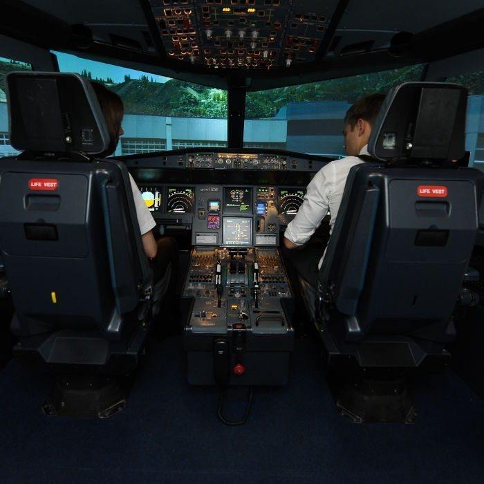 Flugsimulator vom Typ A320 - 60 Min.