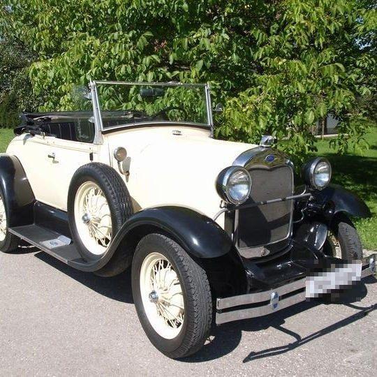Ford Model A Replika fahren – Berglern