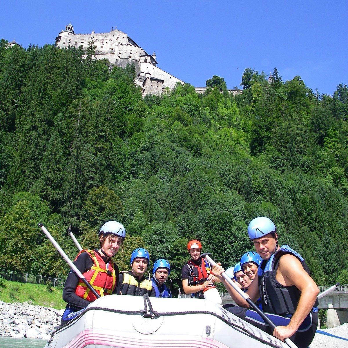 Fun Rafting-Tour - Raum Salzburg