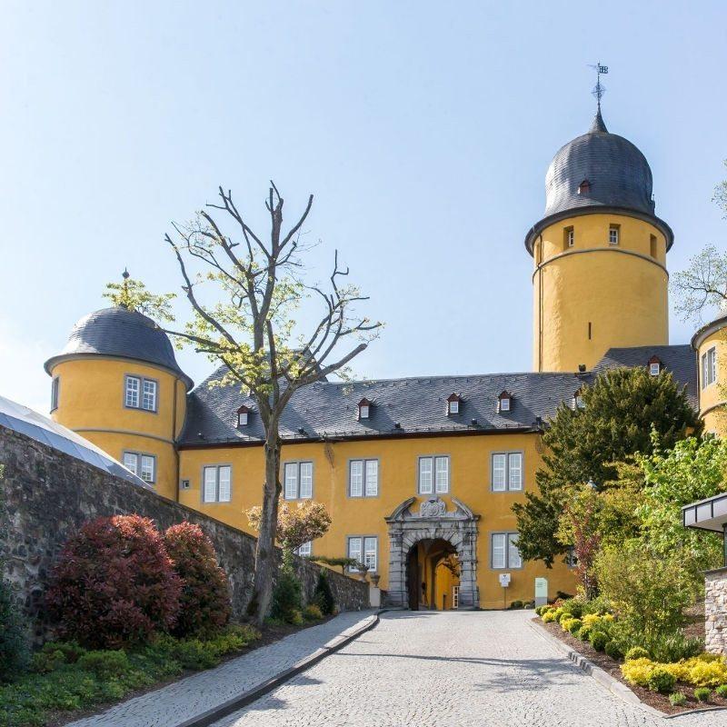 Fürstliches Wochenende für 2 im Schloss - Montabaur
