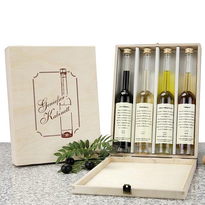 Geschenkset Genießer-Kabinett für die Küche