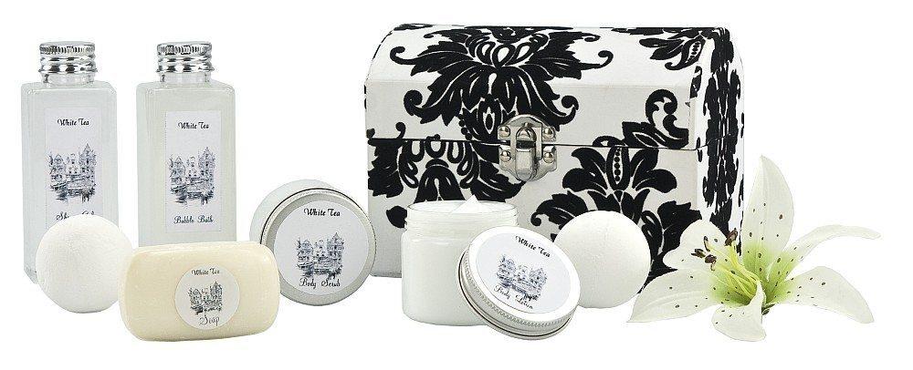 Geschenkset Wellness White Tea verpackt