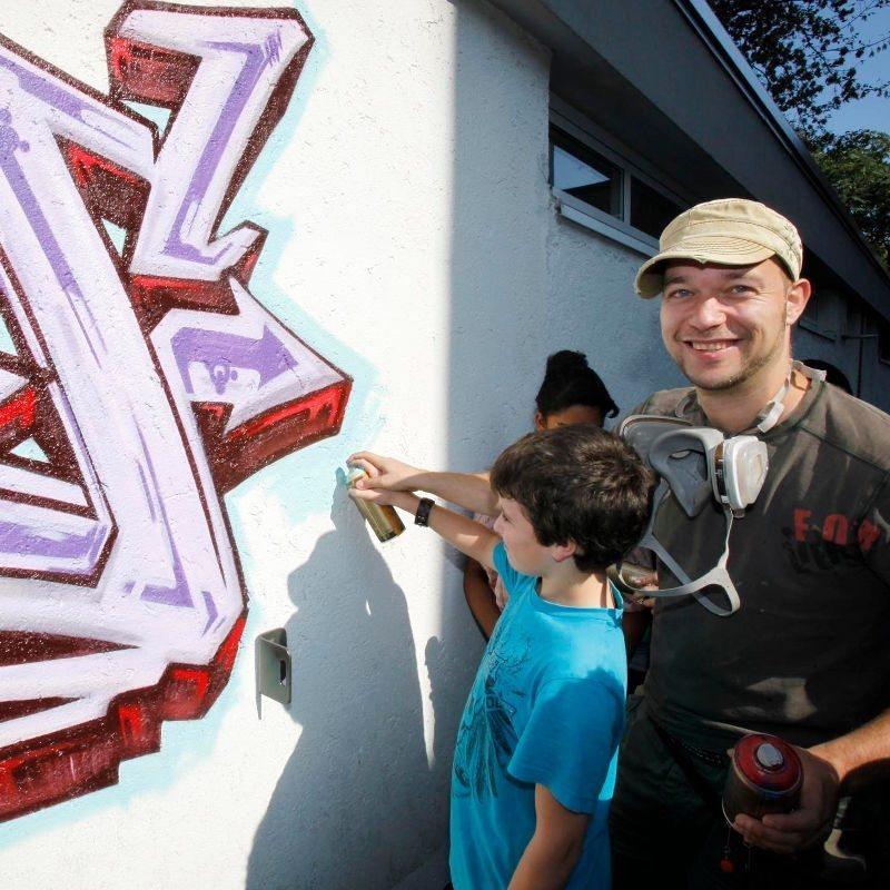 Graffiti-Workshop – für 5 Personen – Berlin