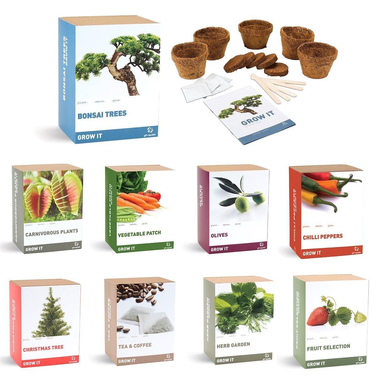Grow Bonsai Set