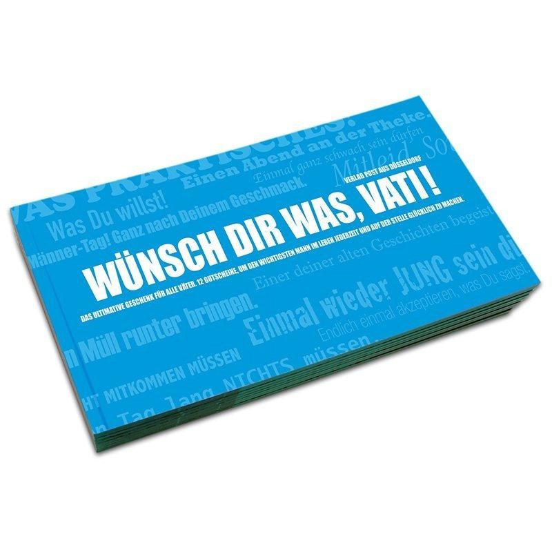 "Gutscheinbuch ""Wünsch dir was, Vati!"""