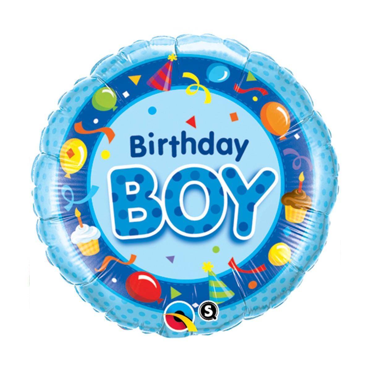 "Helium-Luftballon ""Birthday Boy"""