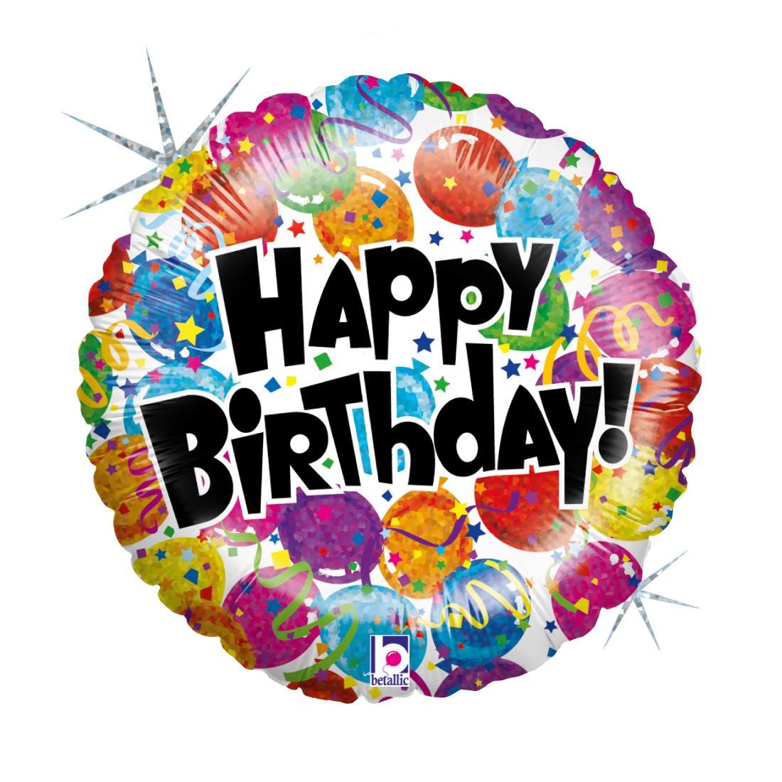 Helium-Luftballon Geburtstags-Party