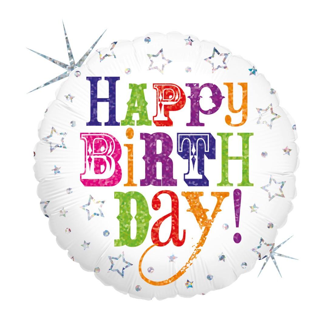 Helium-Luftballon Geburtstagsgruß