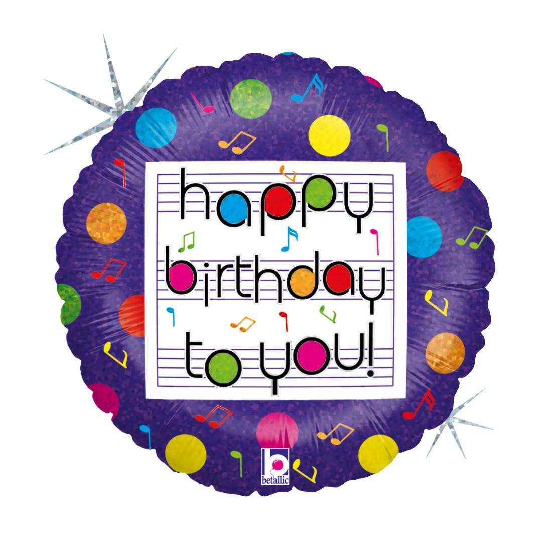 "Helium-Luftballon Geburtstagsständchen"""