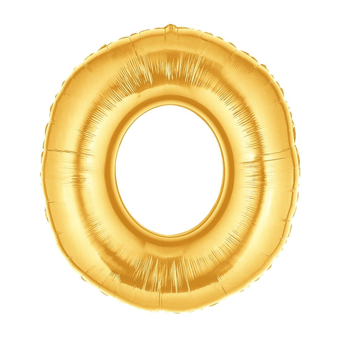 Helium-Luftballon Goldene Zahl