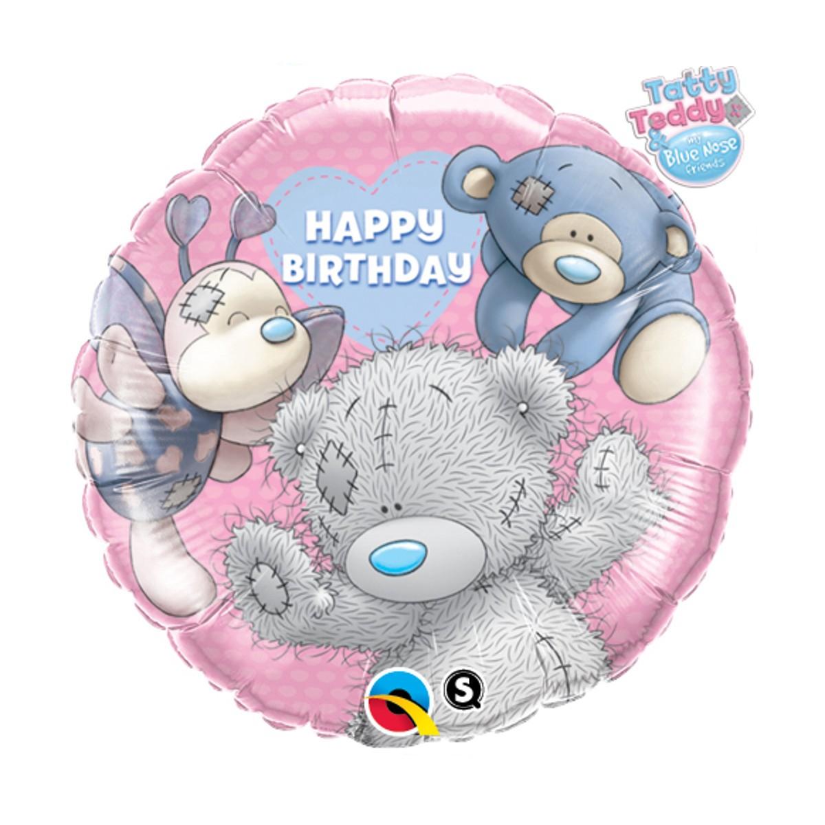 "Helium-Luftballon ""Happy Birthday"" (Tatty Teddy)"