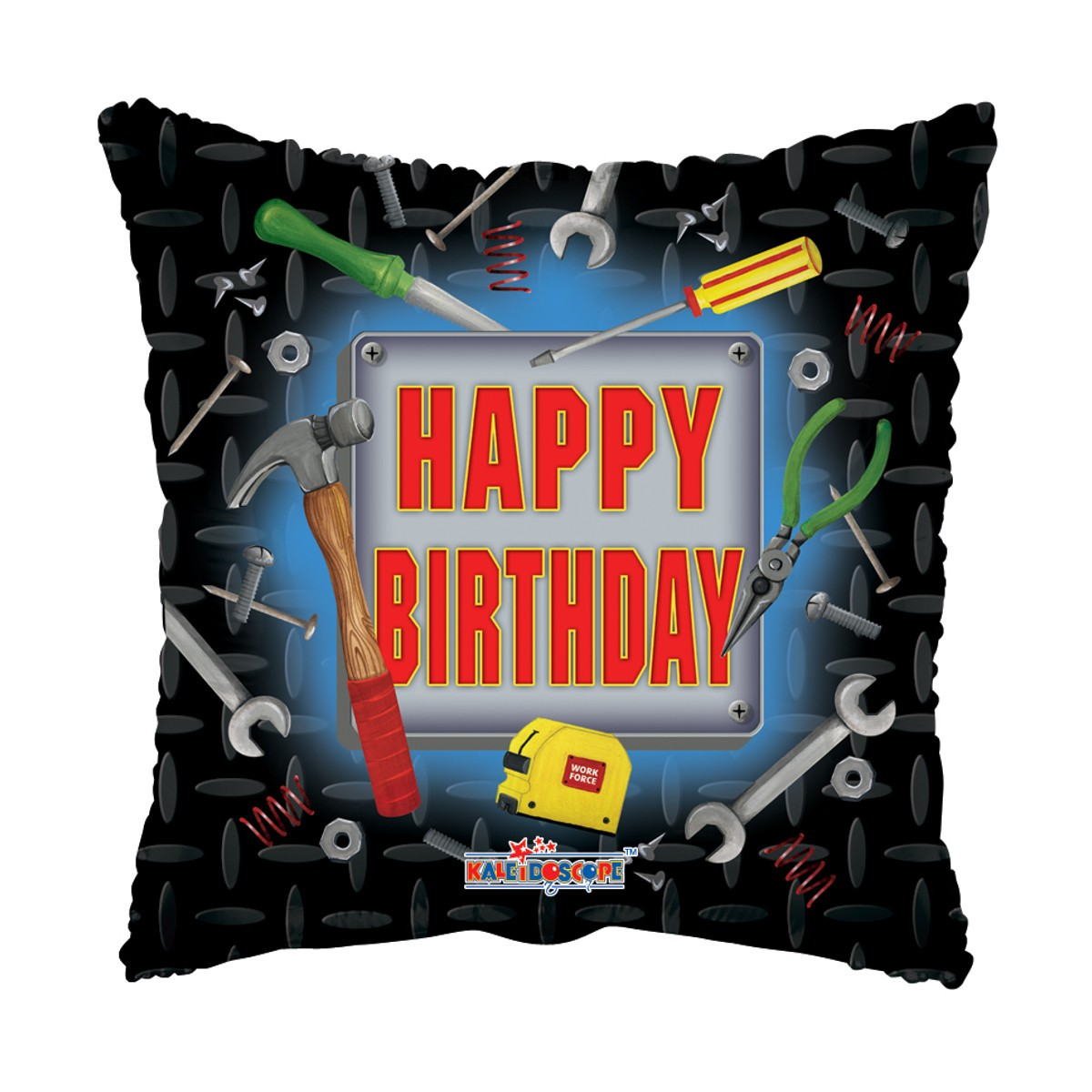 "Helium-Luftballon ""Happy Birthday"" (Werkzeug)"