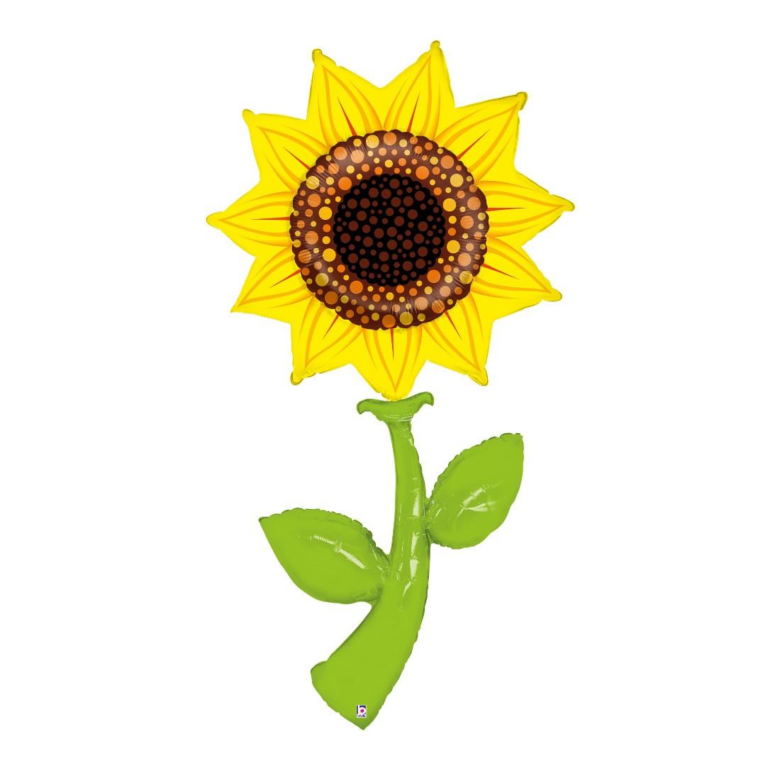 Helium-Luftballon Riesen-Sonnenblume