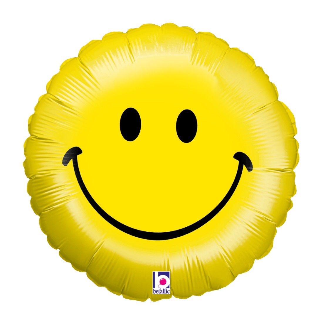 Helium-Luftballon Smiley Face