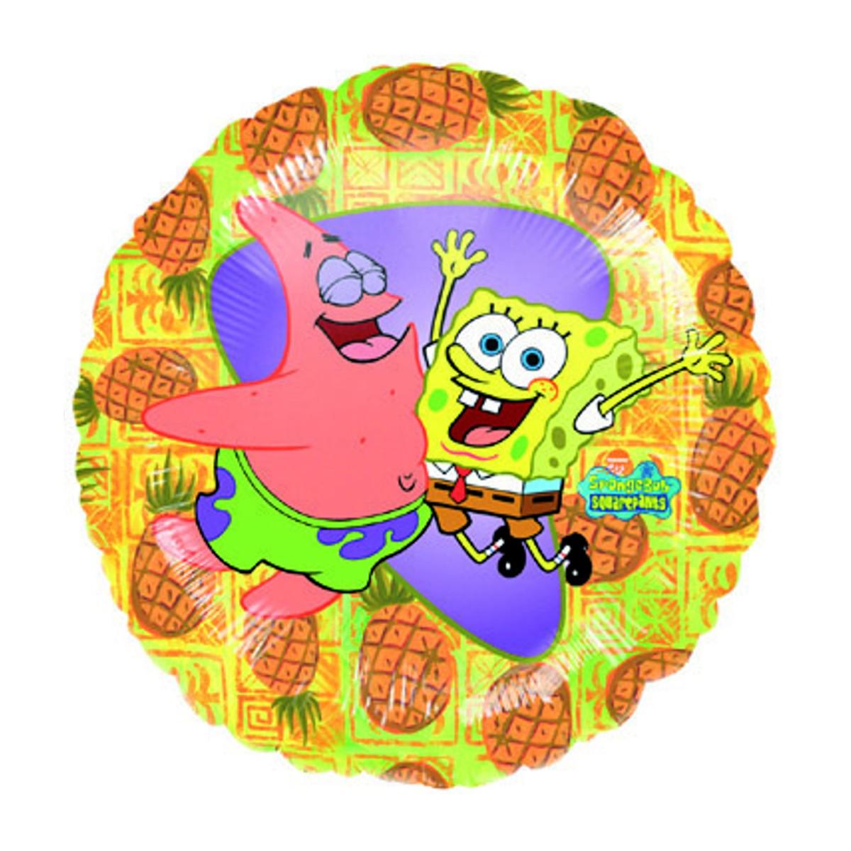 "Helium-Luftballon ""SpongeBob und Patrick"""