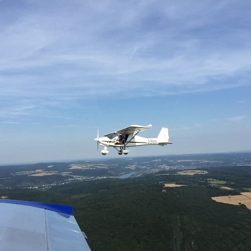 Höhenflug im Ultraleichtflugzeug - Bonn