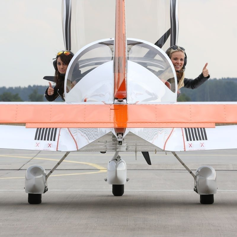 Höhenflug im Ultraleichtflugzeug - Strausberg-Nord