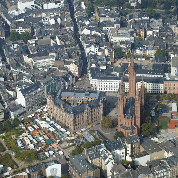 Rundflug - Raum Mainz