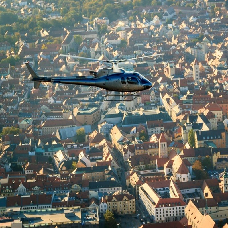 Hubschrauber-Rundflug – Regensburg/Kelheim
